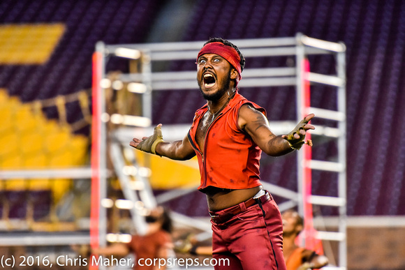 Clyde Forland III as Judas with Madison Scouts