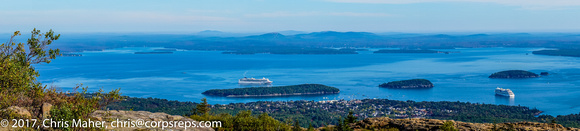 084-Bar Harbor panorama