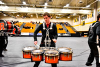 Rutgers University Drumline_180408_South Brunswick-0892