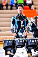 Hopewell Valley Drumline_180324_Perkiomen Valley-8246